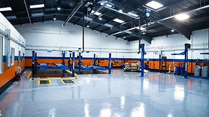 Flooring and Automotive equipment installation