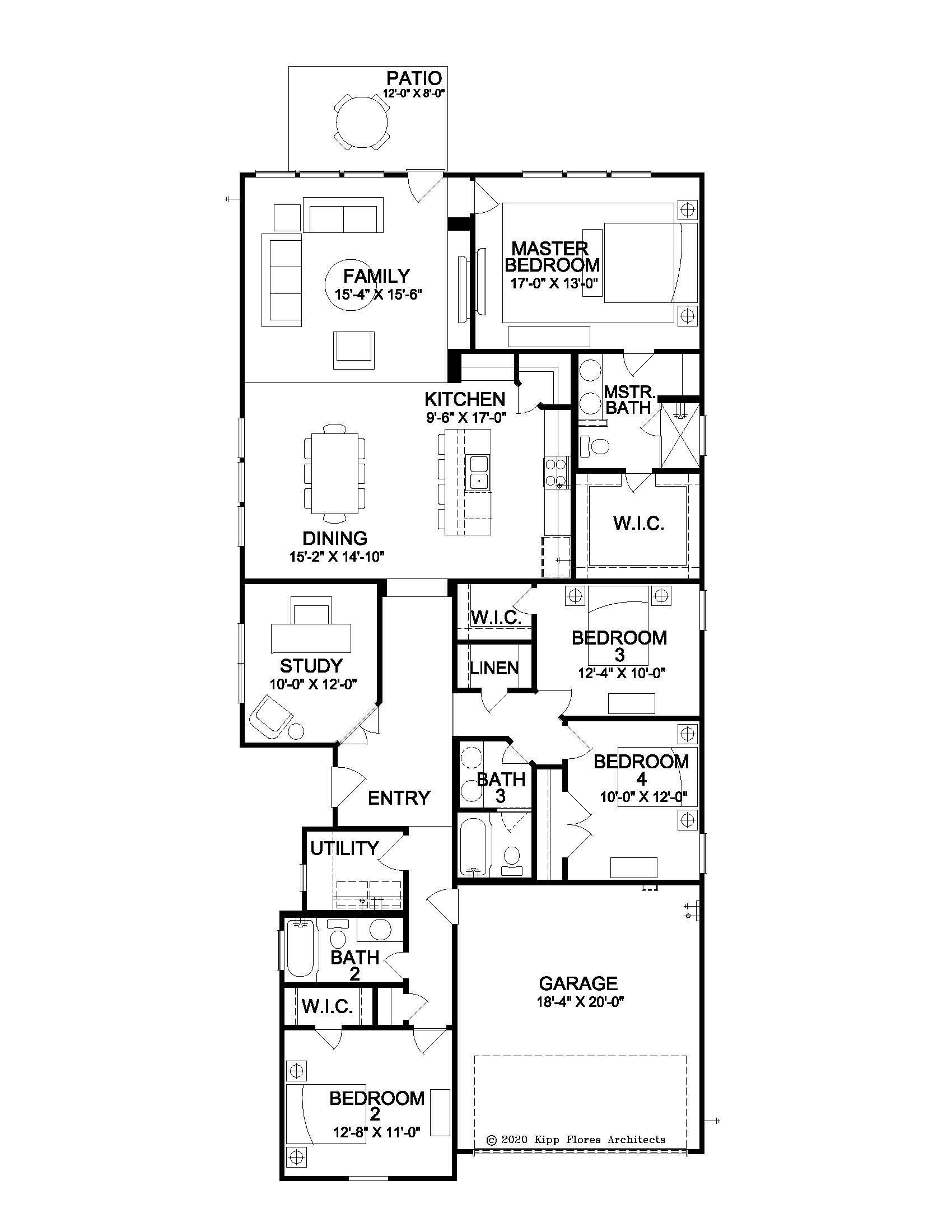 The Byanca - Floor Plan