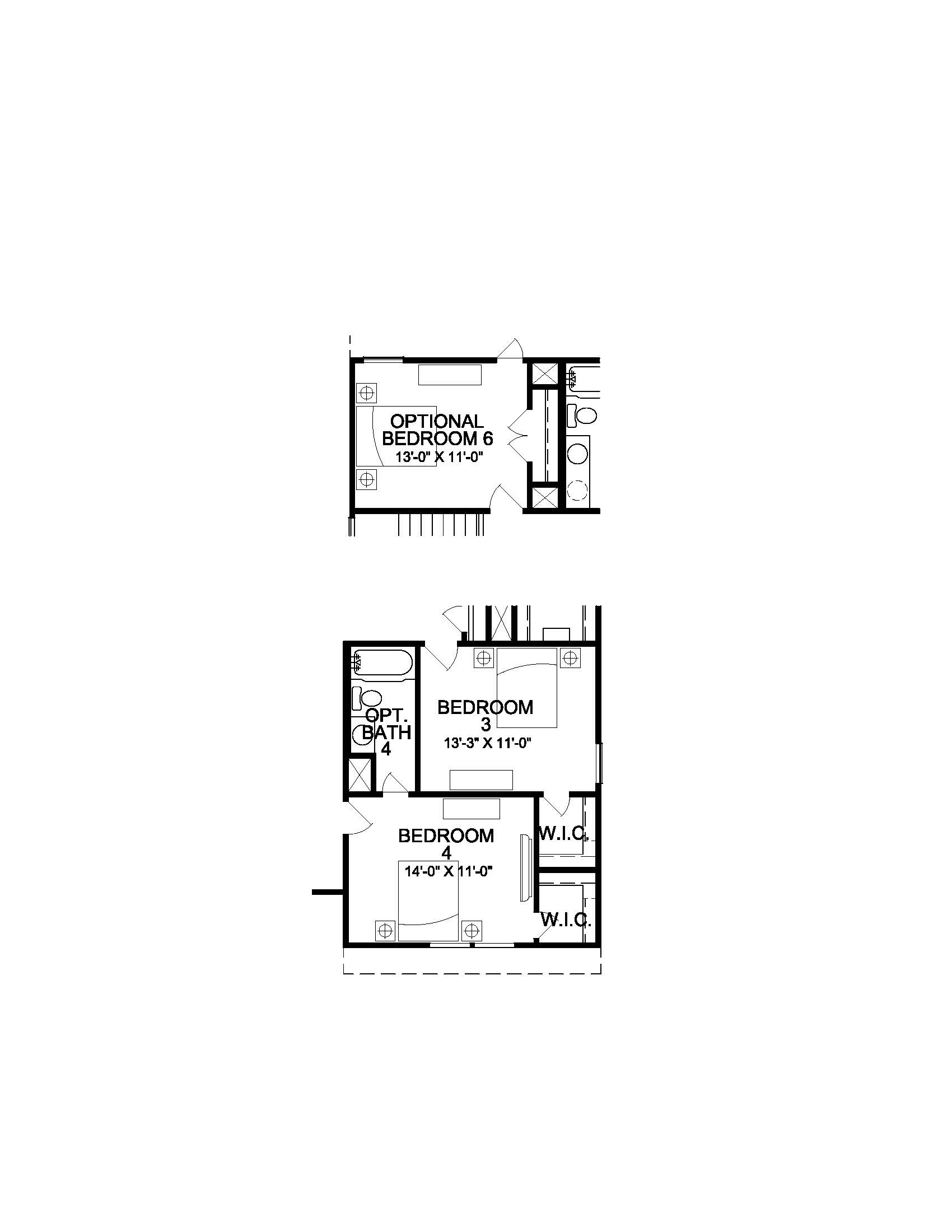 The Sorrento - 2nd Floor Options