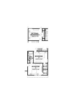 The Sorrento - 2nd Floor Options