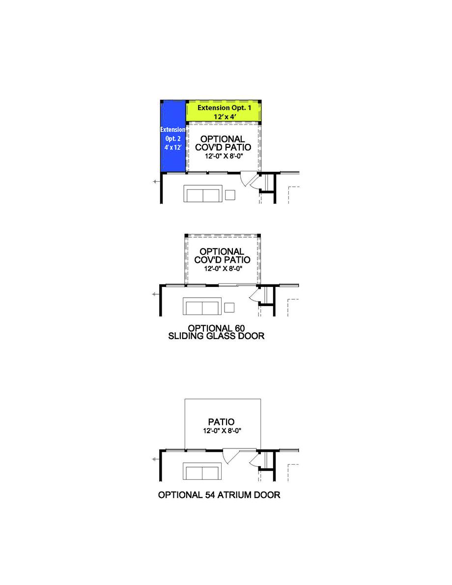 The Sorrento - 1st Floor Options