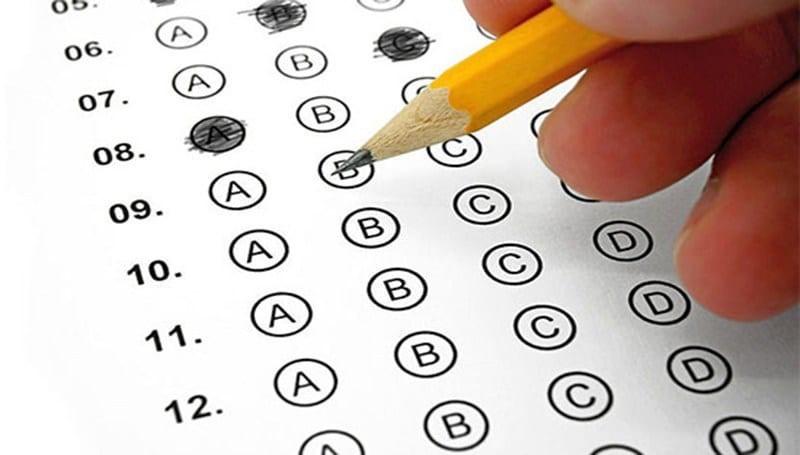 Cartão de respostas - Exame do CRC