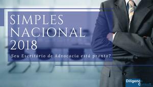 Simples Nacional 2018 para Escritório de Advocacia