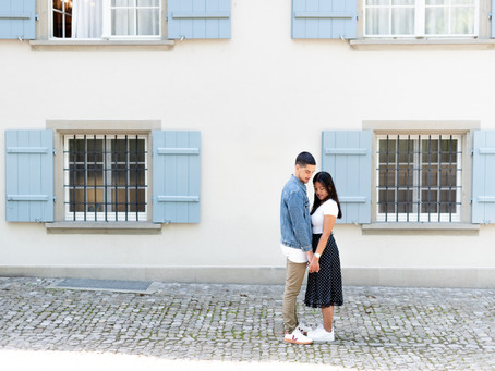 A beautiful engagement shoot in Zürich, Switzerland