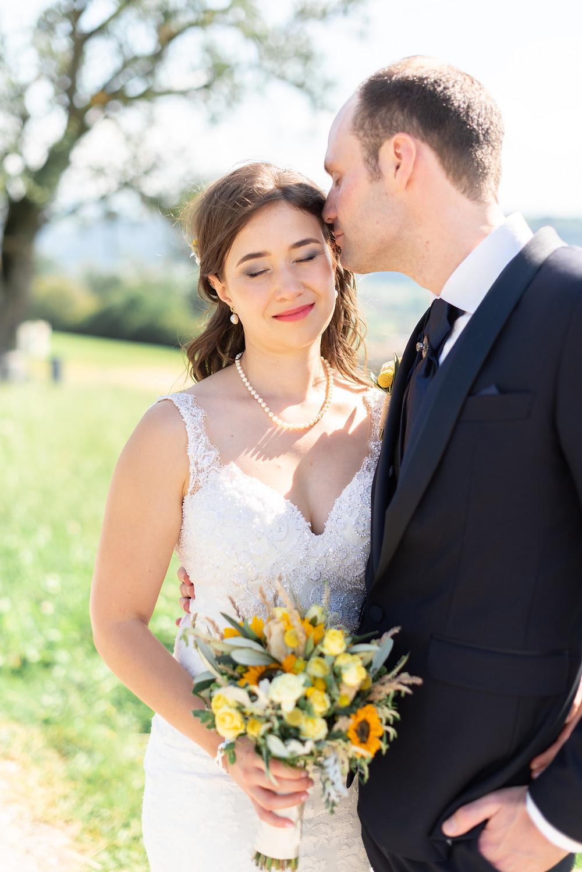 Natural light wedding photography Lenzburg Switzerland