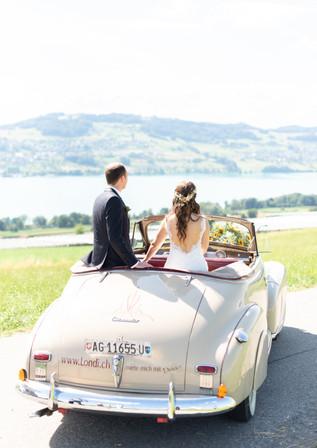 Switzerland wedding car