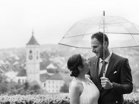 Beautiful civil wedding in Schaffhausen, Switzerland