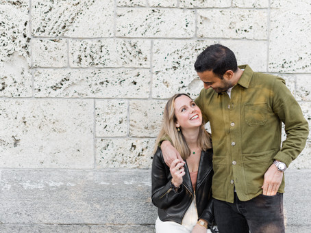 Couple photoshoot in the streets of Zürich, Switzerland