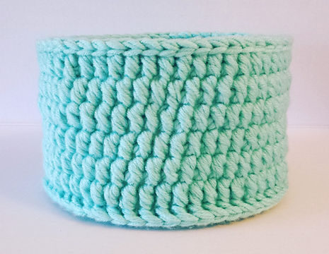 One of my 1st baskets made using the Bolster Stitch