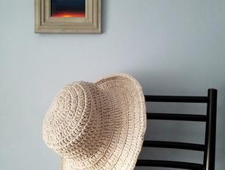 Bolster Brim Sunhat Crochet Kit