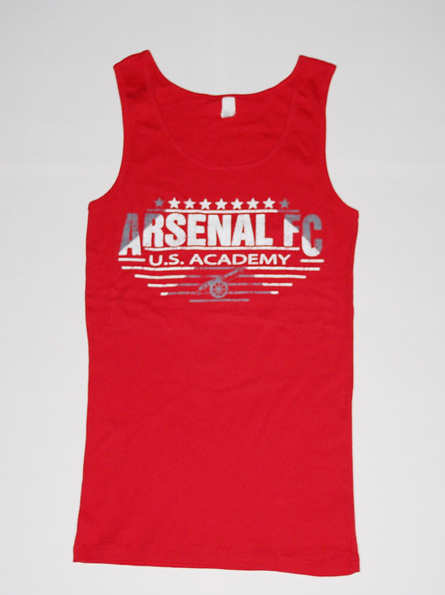 Item# 2(B) - Ladies Red Tank (Arsenal FC)