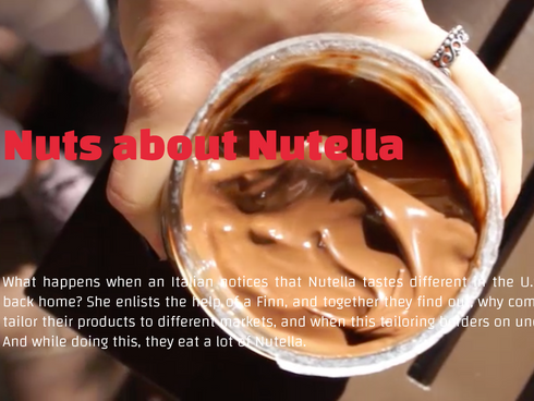 Interactive —Nuts about Nutella