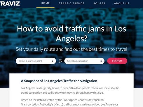 Traviz LA — Monitoring Data Traffic in LA