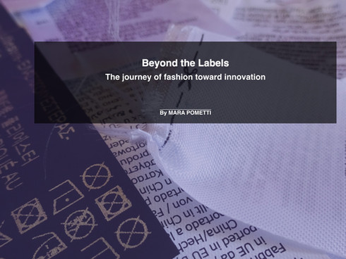 Data Story —Beyond the Labels
