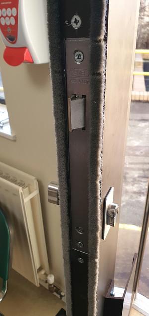An open door...