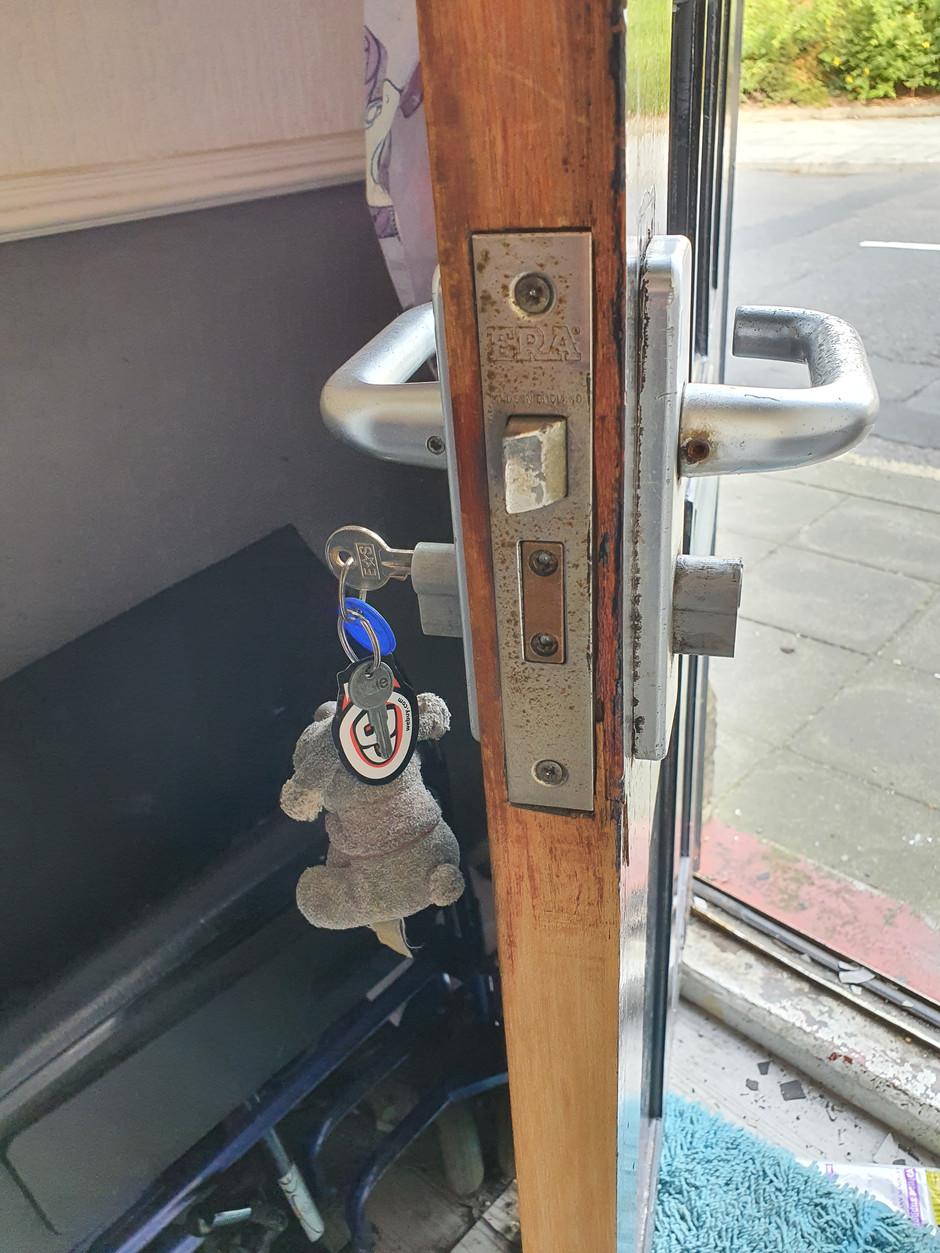 Right lock, wrong locks