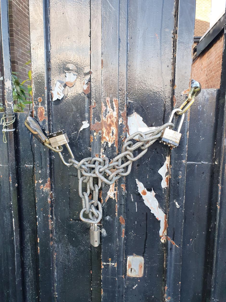 Ring a locksmith