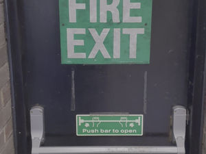 Exit right here!