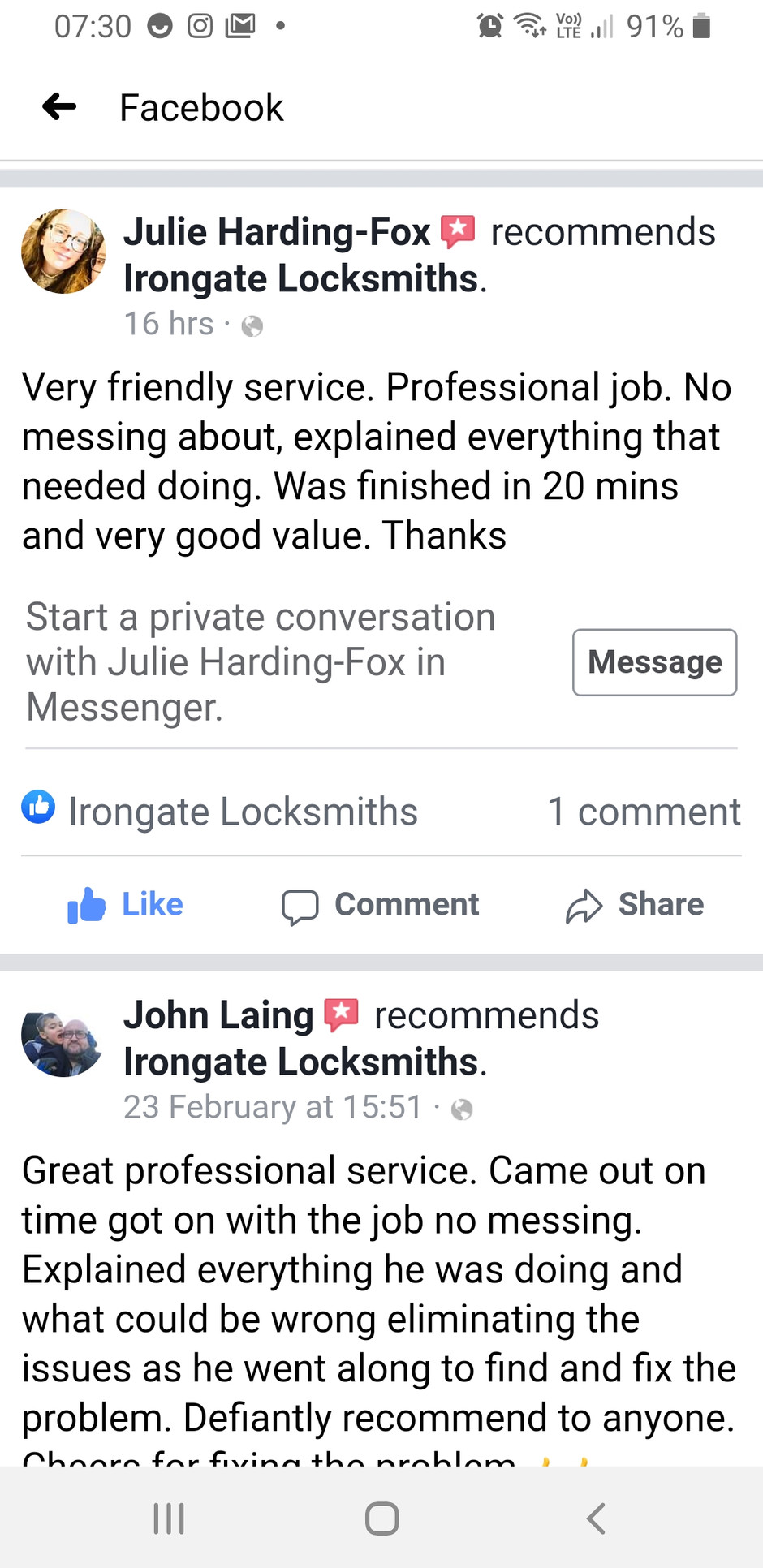 Another great review!