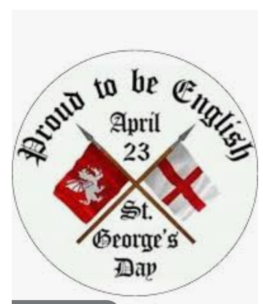 St George's day...or is it?