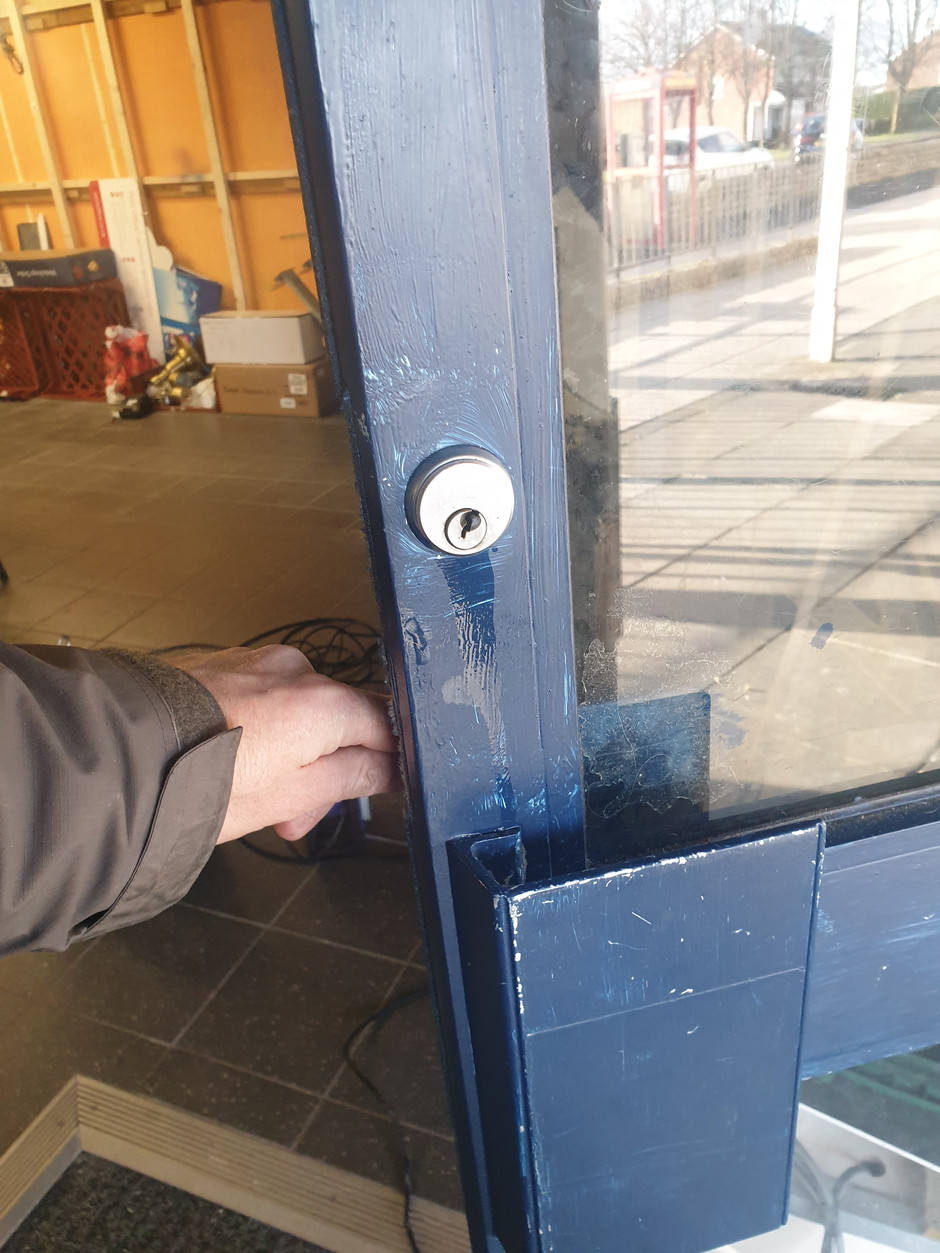 Its only a bloody lock!