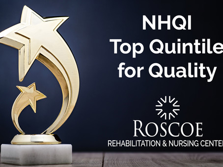 Roscoe Earns NYS Top Quintile Ranking