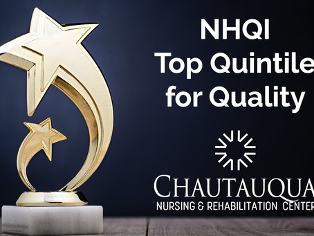 Chautauqua Earns NYS Top Quintile Ranking