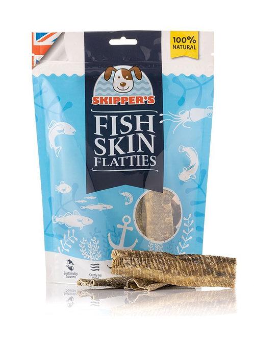Skippers - fish skin flatties (regular) 250g