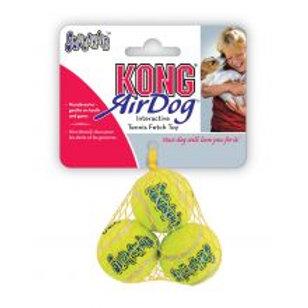 KONG AirDog Squeakair Ball X-Small (3 Pack)