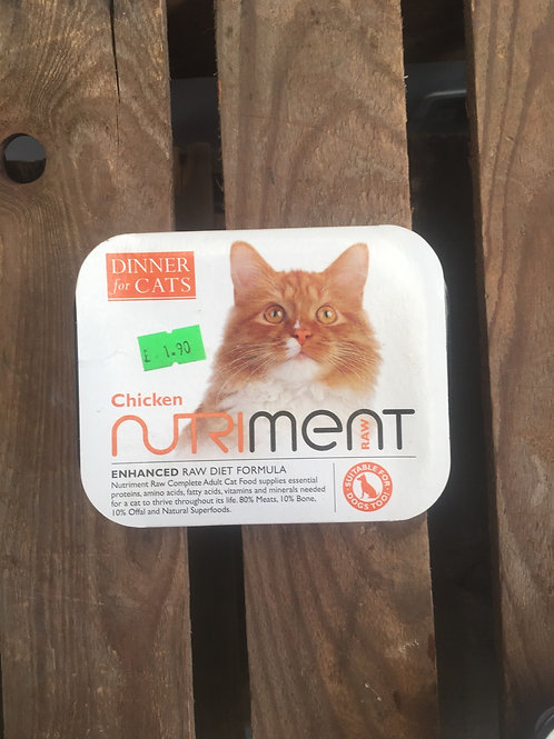 Nutriment Cat Food - Chicken 175g
