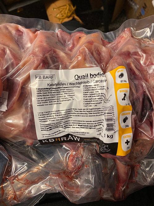 KB quail carcass 1kg