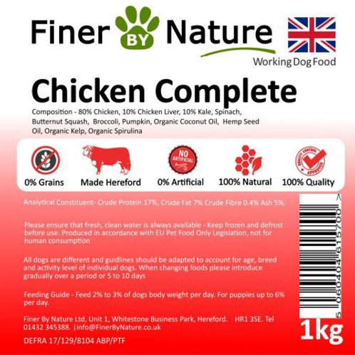 Finer by nature - chicken complete 1kg