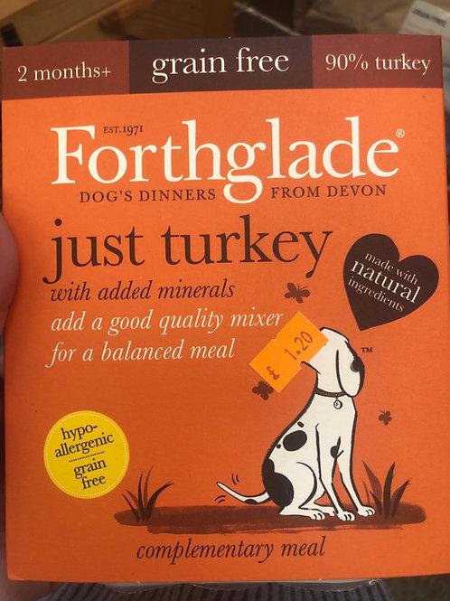 Forthglade turkey 395g