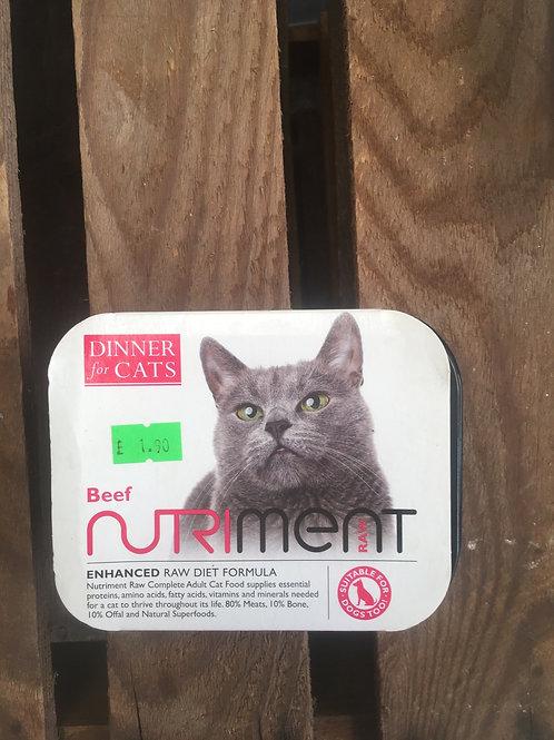 Nutriment Cat Food - Beef 175g