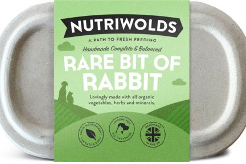 Nutriwolds - Rare bit of Rabbit 1kg (chunky)