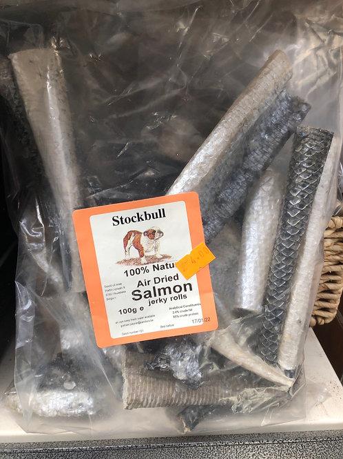 Salmon jerky rolls 100g
