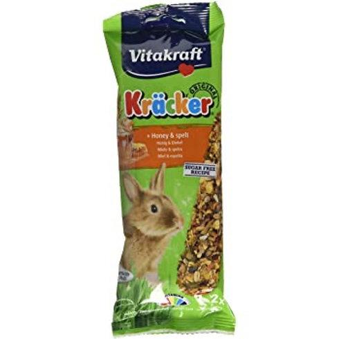 Vitakraft Kracker Sticks RABBIT Honey and Spelt 2pk