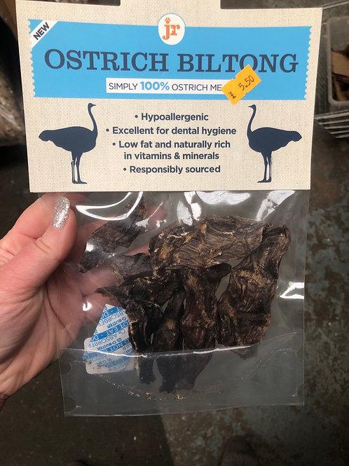 Jr ostrich biltong