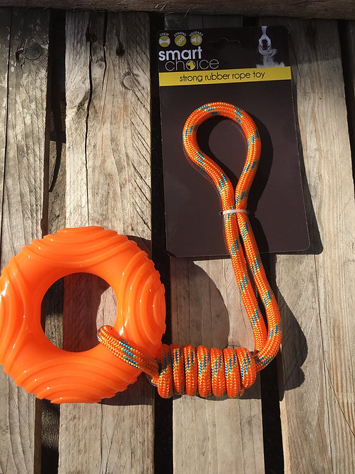 Ring and Rope Toy