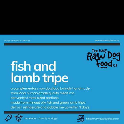 Easy Raw Dog - Fish and lamb tripe no bone