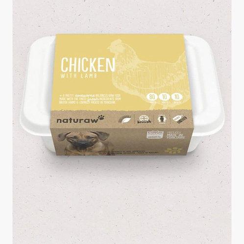 Chicken with lamb (500g) naturaw