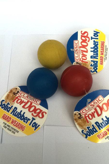 Soild rubber ball x1 large