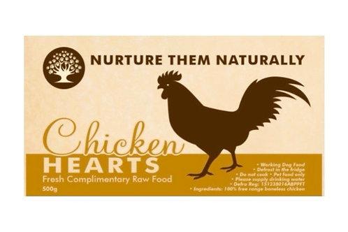 Nurture them naturally - Chicken Hearts 500g