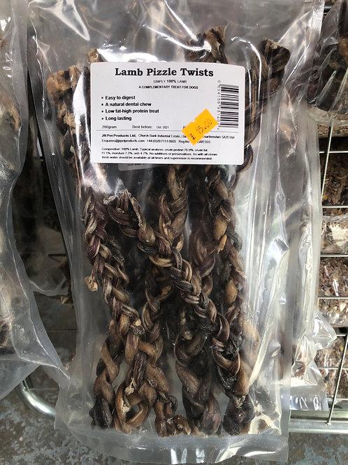 Lamb pizzle twists