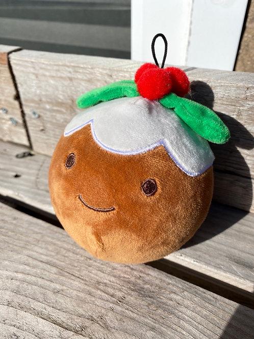 Christmas pudding squeaker ball