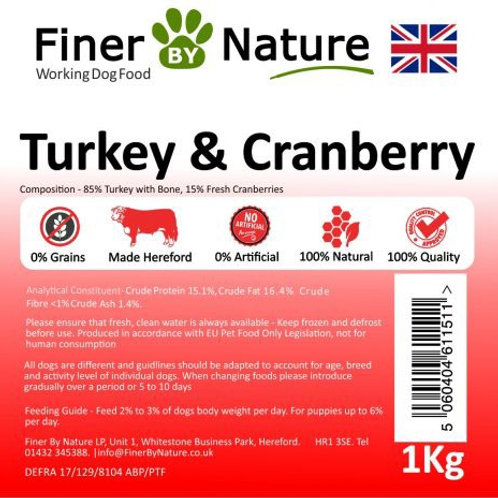 Finer by nature - Turkey and cranberry