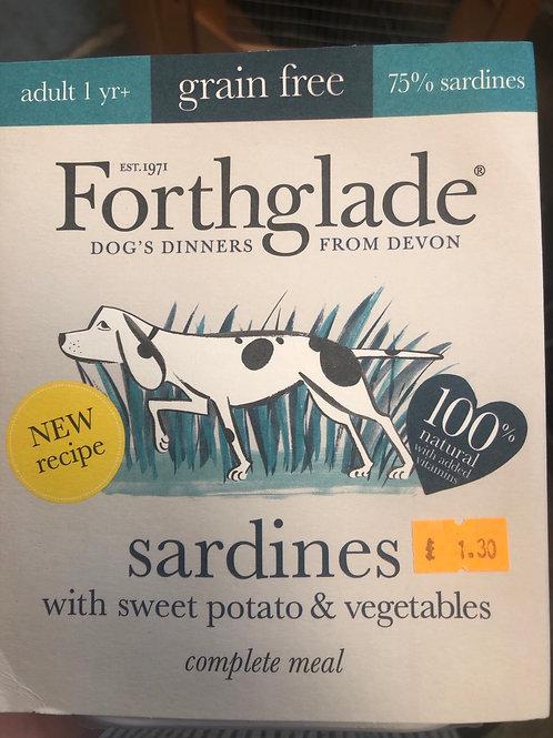 Forthglade grain free sardines 395g