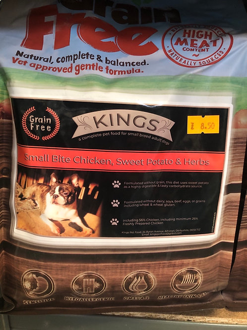 Kings small bite chicken GF 2kg