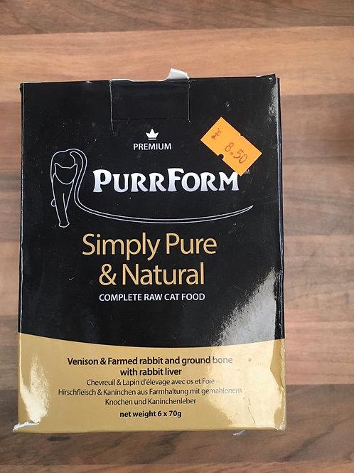 Purrform Complete Cat - Venison and Rabbit