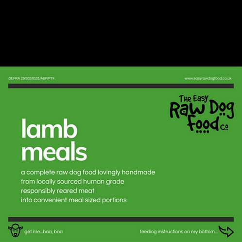 Easy Raw Dog - Lamb with Veg